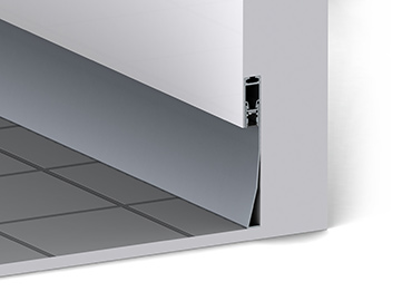 Alu Baseboard led profile