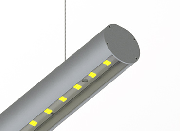 ALU ROUND 52 led profile