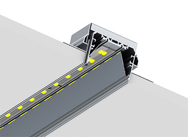 PL55 FL trimless led profile
