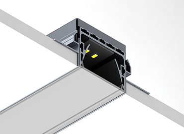 PL55 trimless led profile