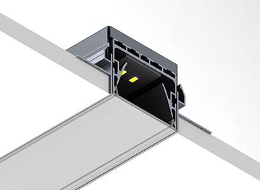PL55 trimless led profile