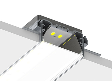 PLW70 FL trimless led profile