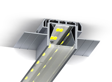 SPL35-fl trimless led profile