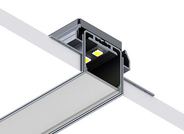 SPL35 trimless led profile